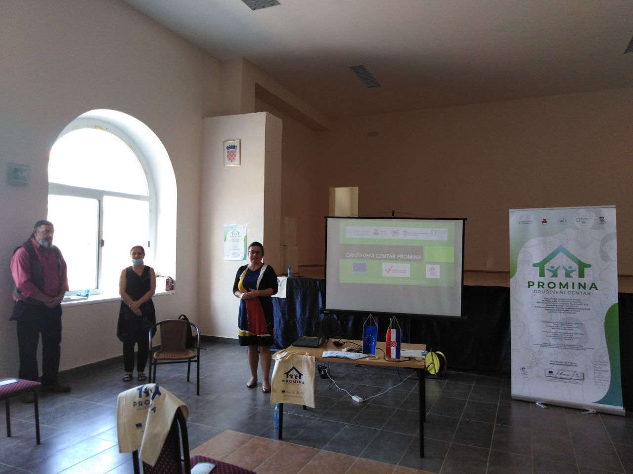 PRIOPĆENJE – Početna konferencija – projekt: Društveni centar Promina