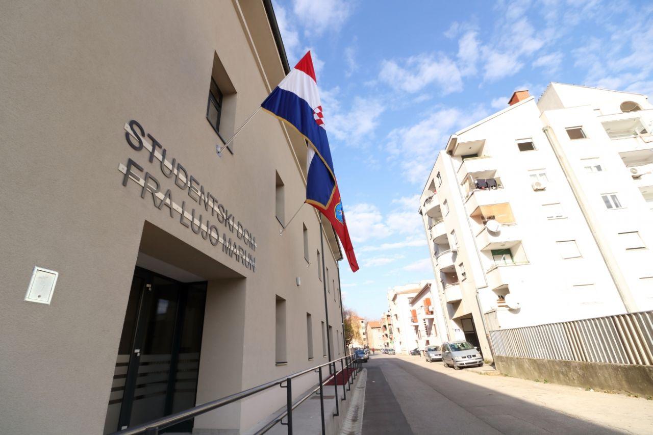 """Konačna rang lista studenata za smještaj u Studentskom domu """"fra Lujo Marun"""" u ak.god. 2020./2021."""