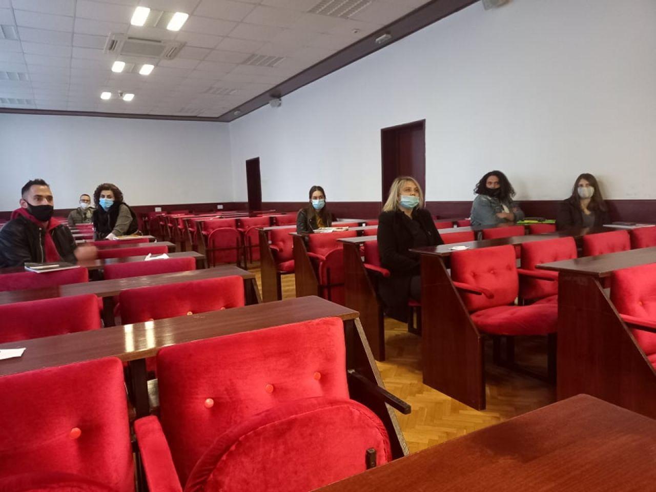 """Održana radionica za studente pod nazivom """"Motivacija (poticanje) studenata Veleučilišta """"Marko Marulić"""" u Kninu na međunarodnu razmjenu u okviru Erasmus + programa"""""""