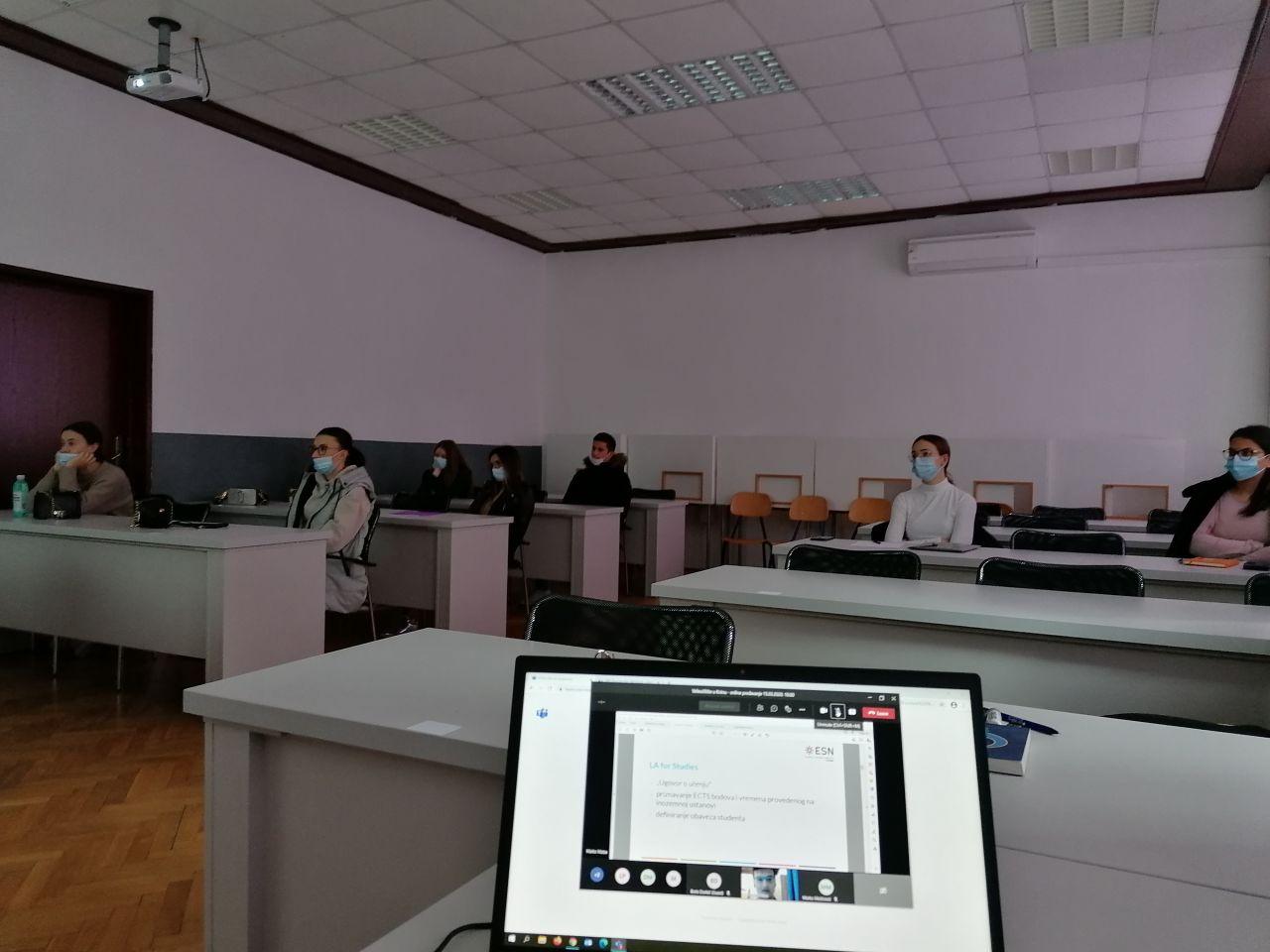 Održana druga po redu radionica za studente  o dostupnosti i prilikama za studentsku mobilnost u sklopu programa Erasmus+