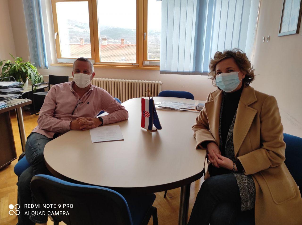 Poptpisan Sporazum o suradnji sa Srednjom školom Ivana Meštrovića - Drniš