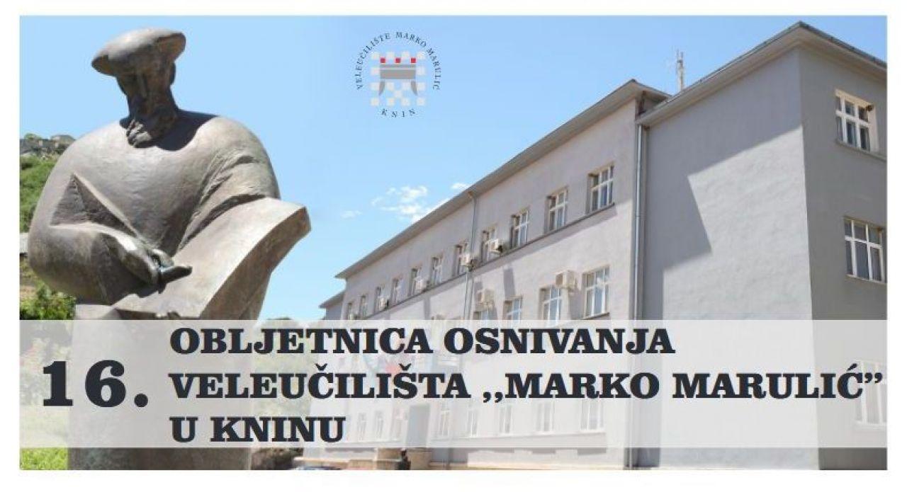 """Obilježavanje 16.-e obljetnice osnivanja Veleučilišta """"Marko Marulić"""" u Kninu"""